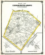 Upper Pitts Grove Township, Pole Tavern, Pennsville, Salem and Gloucester Counties 1876